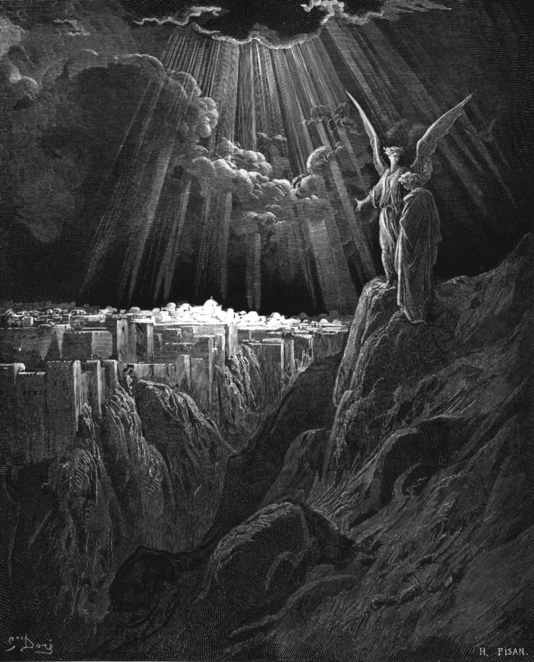 New Jerusalem, by Gustave Doré