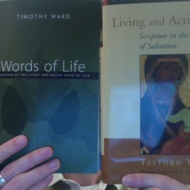 Theology of Scripture?